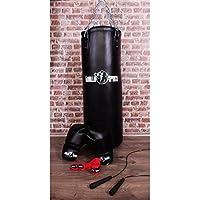 Gorilla Sports Starter Boxe Pack 6 Articles - Sac de Frappe - Gants de Boxe - Corde à Sauter - Bandes de Maintien