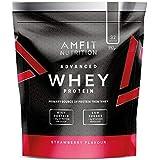 Amfit Nutrition Whey Protein Powder - 992 g (Strawberry)