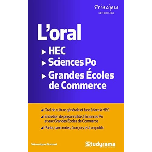 L'oral HEC, Sciences Po, Ecoles de commerce