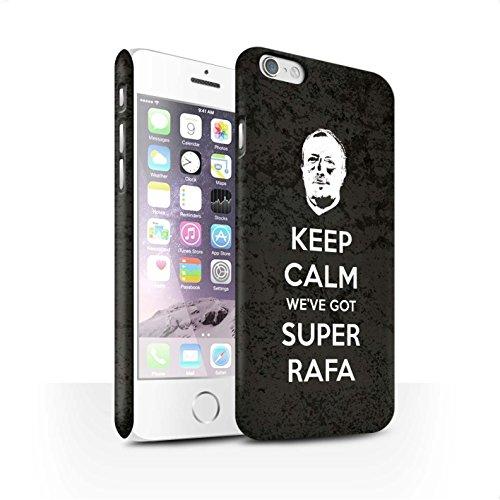 Officiel Newcastle United FC Coque / Clipser Matte Etui pour Apple iPhone 6 / Pack 8pcs Design / NUFC Rafa Benítez Collection Rester Calme