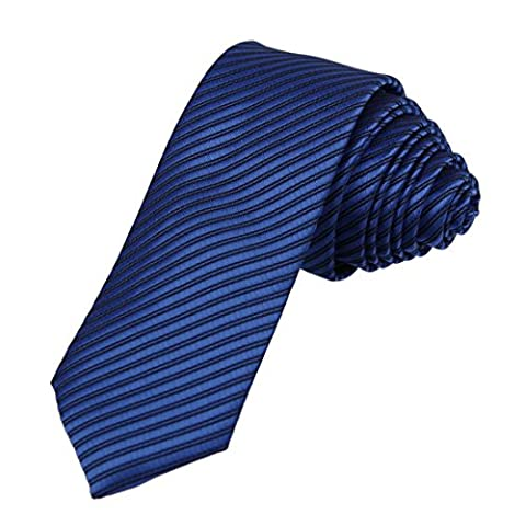 DAE2036 bleu royal noir cravate assor Cravate Gift Box Set