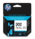 HP Inc. Ink 302 C/M/Y, F6U65AE#BA3