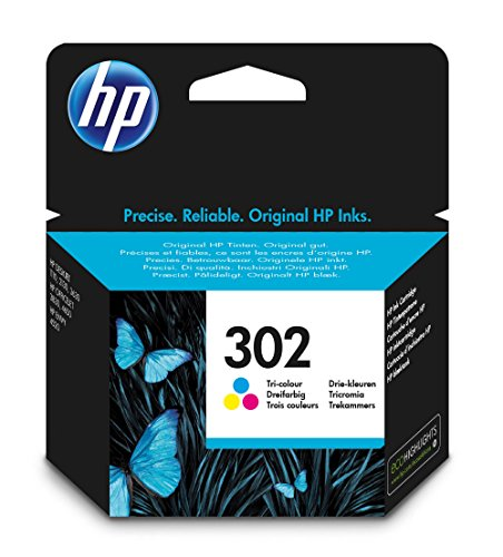 HP Inc  Ink 302 C/M/Y, F6U65AE#BA3