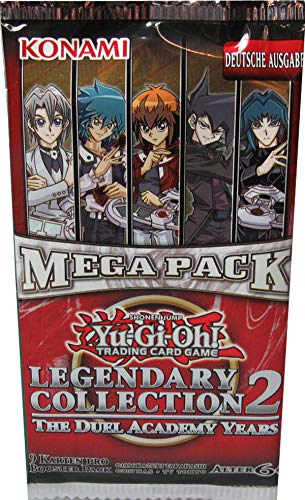 Yu-Gi-Oh! Legendary Collection 2 Mega Pack Booster deutsch