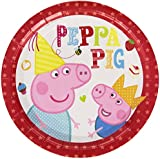 Peppa Pig Plates (Pack of 8)