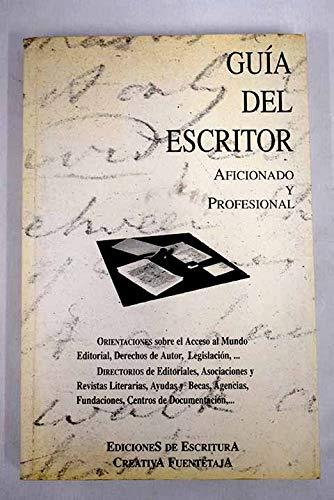 Guia Del Escritor Aficionado Y Pr por Aa.Vv.