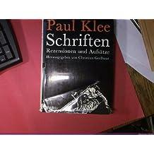 Schriften. Rezensionen und Aufsätze
