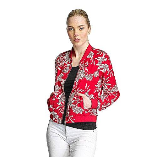 Only Damen Jacken / Übergangsjacke onlFlour Rot