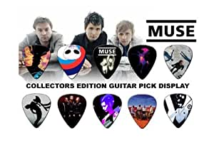 Muse Premium Celluloid Médiators Display A5 Sized
