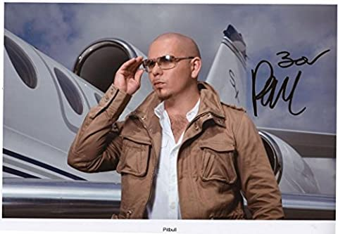 Pitbull Signed Autographed A4 Photo Print Poster