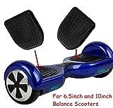 Dessus en caoutchouc de rechange Rembourrage de pied Pédale Coque pour 6,5 pouces et 10 pouces auto-équilibrage Scooter électrique