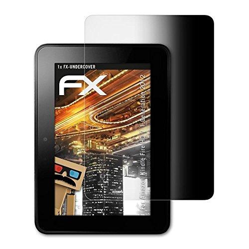 atFolix Blickschutzfilter kompatibel mit Amazn Kindl F¡re HD 7 1.Generation 2012 Blickschutzfolie, 4-Wege Sichtschutz FX Schutzfolie (Hd Fire Kindle 7 Sichtschutz)