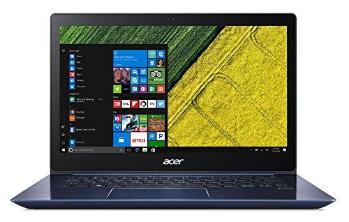 Acer Swift 3 (SF314-52-33VV) 35,6 cm (14 Zoll Full-HD) Ultrabook (Intel Core i3-7100U, 4GB RAM, 128GB SSD, Intel HD Graphics, Win 10) blau