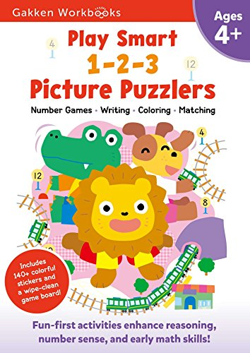 Play Smart 1-2-3 Picture Puzzlers 4+: Fun-First Activities for Building Early Math Skills