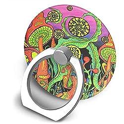 ROBTE Cell Phone Ring Supporto per Anello per Cellulare Supporto Universale per Anello per Anello Trippy Art
