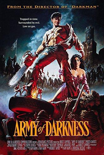 Preisvergleich Produktbild Army of Darkness Poster Evil Dead 3 - Poster Großformat (68cm x 98cm) + 1 Überraschungsposter gratis!