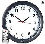 OctaCam Uhr mit Kamera: Kabellose Wanduhr mit Full-HD-Kamera und PIR-Sensor, 180 Tage Stand-by (Versteckte Kameras)