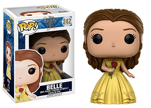 Funko Pop! Películas Disney La bella y la bestia (Beauty and the Beast) – vestido amarillo Belle Vinyl Figura Funko Pop La Bella y la Bestia