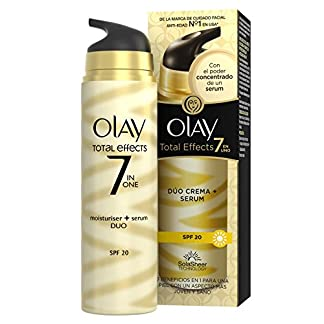 Olay Total Effects 7 en 1 Dúo Hidratante y Sérum con SPF 20 – 40 ml