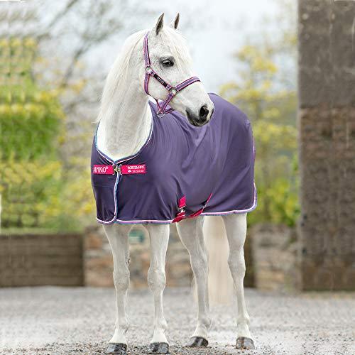 Horseware Amigo Jersey Cooler Pony - Grape/Pink