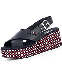 Tommy Hilfiger EN0EN00210 Zapatos DE Cuña Mujer