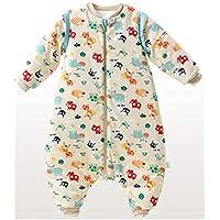 Saco de dormir para niños wolaoma Algodón Saco de Dormir para bebés bebé otoño e Invierno