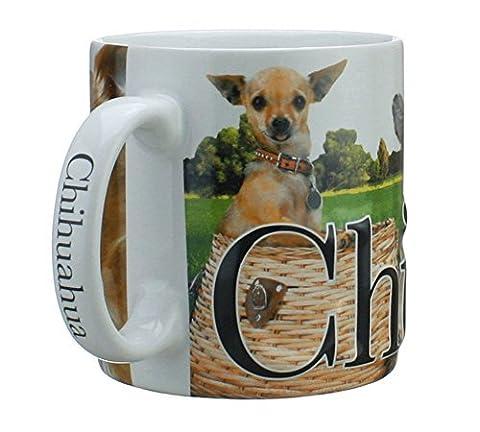 Americaware, My Pet Mug, Best Friend Series, Chihuahua, Raised Lettering, 18 oz. by Americaware
