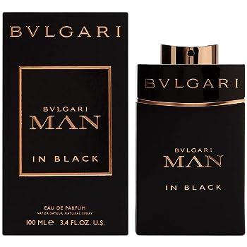 8f613cbea91 Bvlgari Man In Black Homme Men Eau de Parfum 100 ml  Amazon.co.uk ...