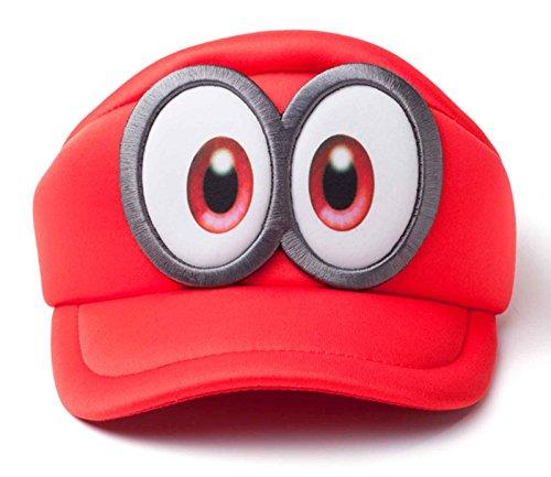Super Mario Hat Cap Odyssey Eyes Shaped Nue offiziell Nintendo