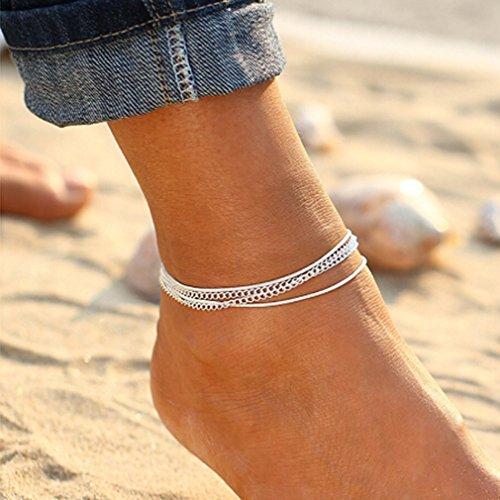 Produktbild LnLyin National Wind Retro Mehrschichtige Armband Fußkette
