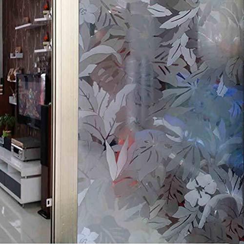 3d-glas-aufkleber,ohneklebstoff Nicht-selbstklebende Anti Uv Privatsphäre Heat Control Statische Cling Glasfolie Für Home Kitchen Office-a 100x70cm(39x28inch)