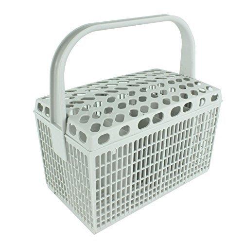 IKEA Geschirrspüler Besteck Korb Kunststoff-Käfig Rack (hellgrau)
