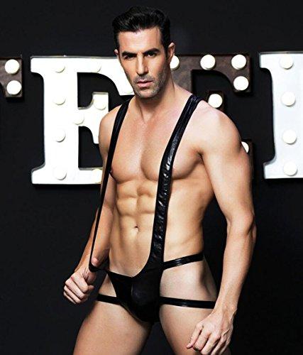 AIYI Lingerie sexy Pour Hommes Siamois sexy uniformes tentations discothèques vêtements de ()