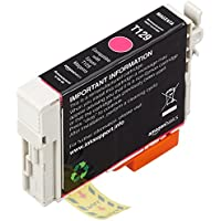 AmazonBasics Remanufactured Ink Cartridge Replacement for Epson Apple T129 Magenta