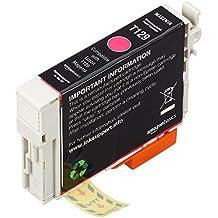 AmazonBasics - Wiederaufbereitete Tintenpatrone für Epson Apple T129 Magenta