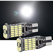 T15 led bulb W16W 921/912 4014 2 Pacs Canbus Error Free Cars reverse light Replacement For Backup Reverse Lights