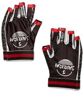 Samurai Match/Training Men's Pro Mitt Glove - Black/Red, X-Small