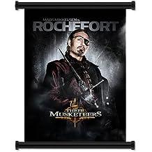 """Los Tres Mosqueteros película 2011Scroll Póster de pared tela (16""""x22pulgadas)"""