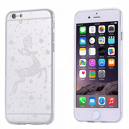 ECENCE APPLE IPHONE 6 6S (4,7) COQUE DE PROTECTION HOUSSE CASE COVER 41020404 Transparent cerf