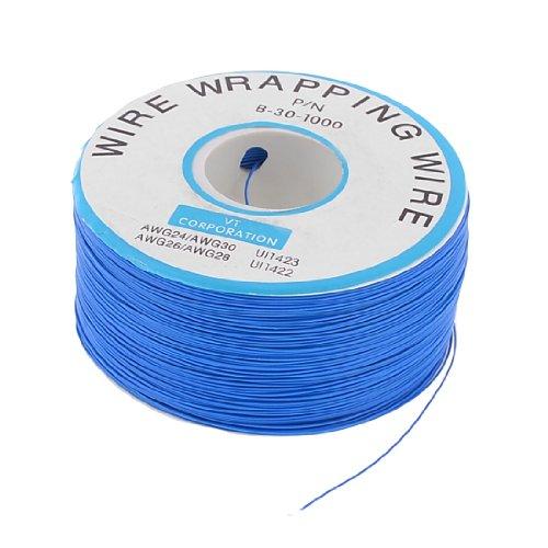 Jig Jtag (sourcingmap® PCB Kupferkern Jumper Kabel einspulig Leiter einzeln Draht 24999,7 cm blau)