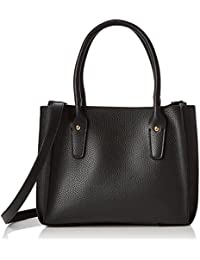 Dorothy Perkins Womens Mini Pleat Tote Black - Black, 29X22.2X15 Cm - W X H L