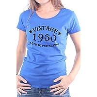 Mister Merchandise Donne Donna Camicetta T-Shirt Vintage 1960 Aged To
