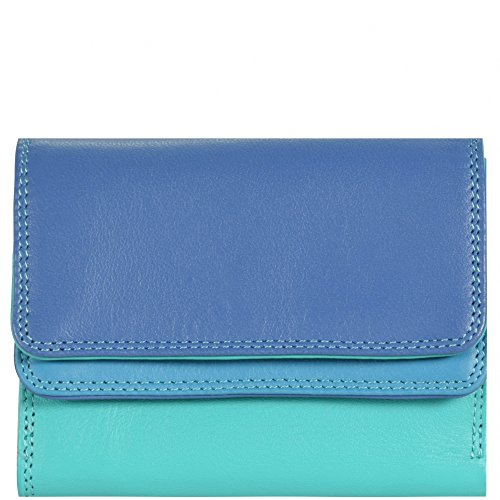 mywalit-small-double-flap-wallet-leather-10-cm-aqua