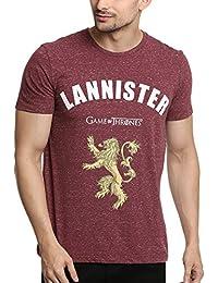 Game of Thrones Men's Printed Regular Fit T-Shirt