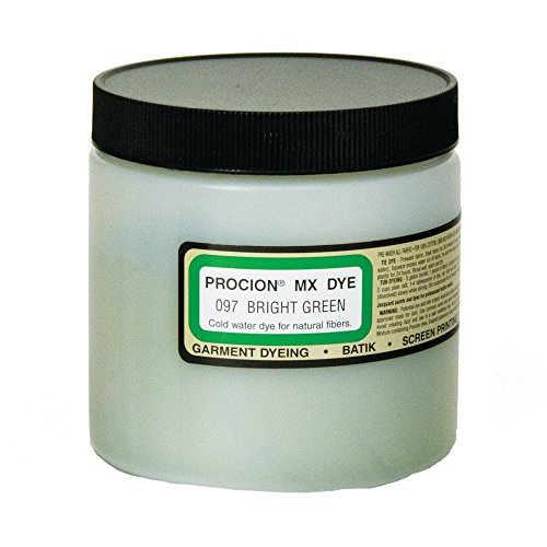 Procion Mx Dye Bright Green 8Oz by Jacquard (Bulk-textilfarbe)