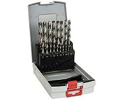 Bosch Professional 19-delige ProBox metaalborenset HSS-G (geslepen, accessoire schroefboormachine en boorstandaard)