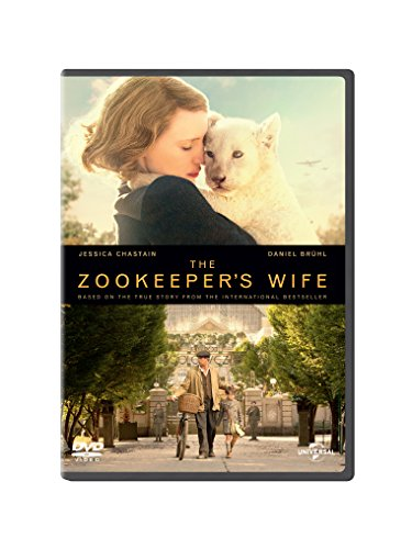 Price comparison product image The Zookeeper's Wife DVD + digital download [2017]