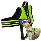 Hundegeschirr, PetLove Katzen-Soft Leine paddled keine Pull Hundegeschirr mit alle Arten von Größe
