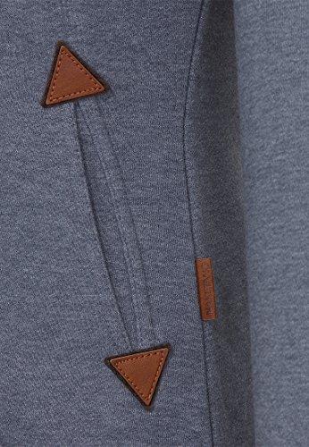 Naketano Female Zipped Jacket Hamza Bau ma IV Dark Ash Melange