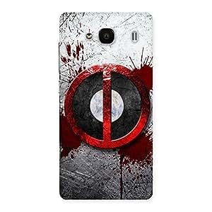 Delighted Bleed Dead Multicolor Back Case Cover for Redmi 2